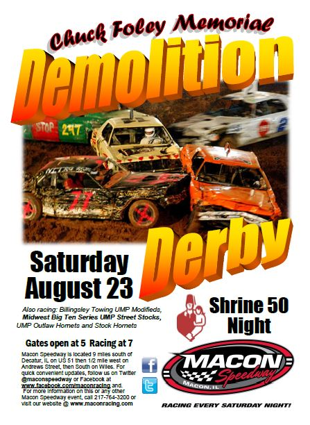 Shrine 50/Demo Derby