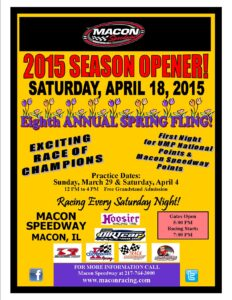 Macon Opening Night Saturday, April 18!