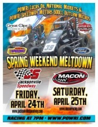 POWRi Midgets April 25th