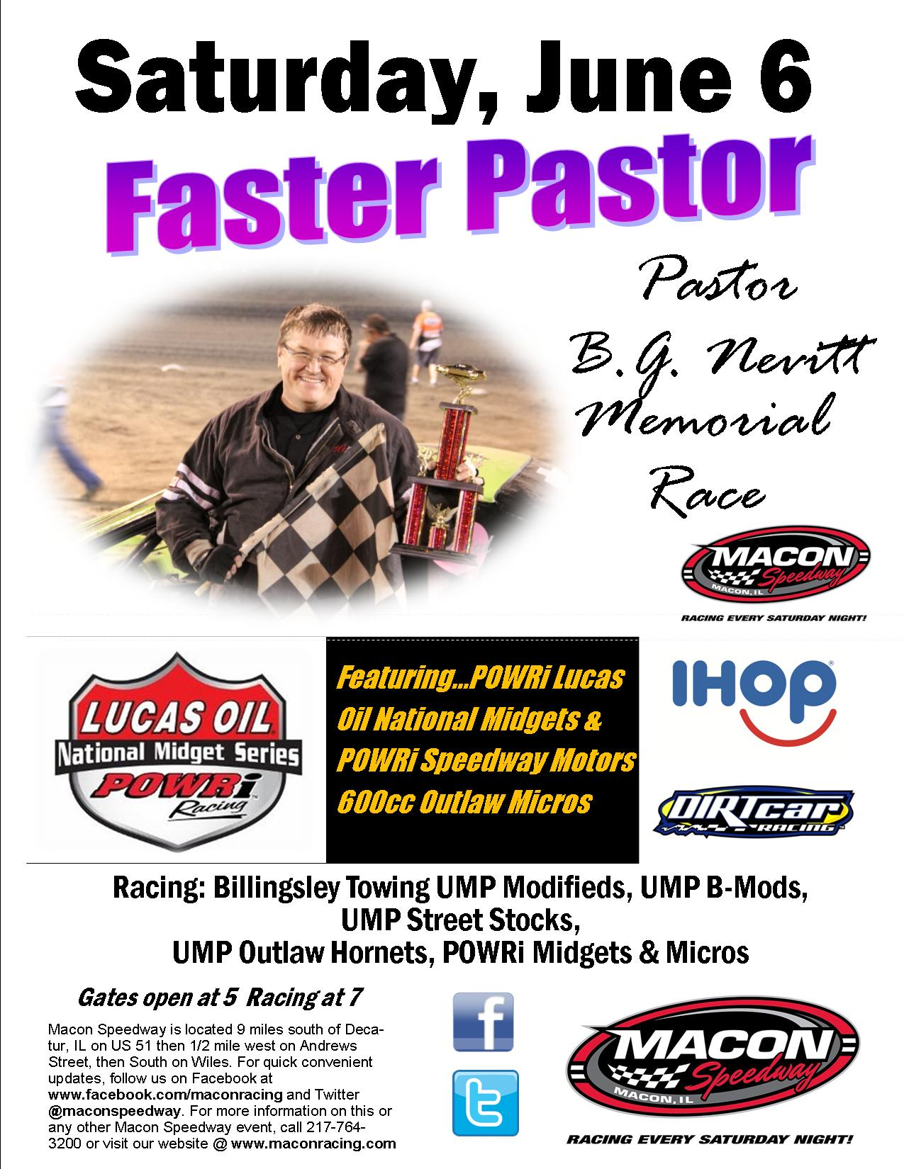 IHOP Night Faster Pastor