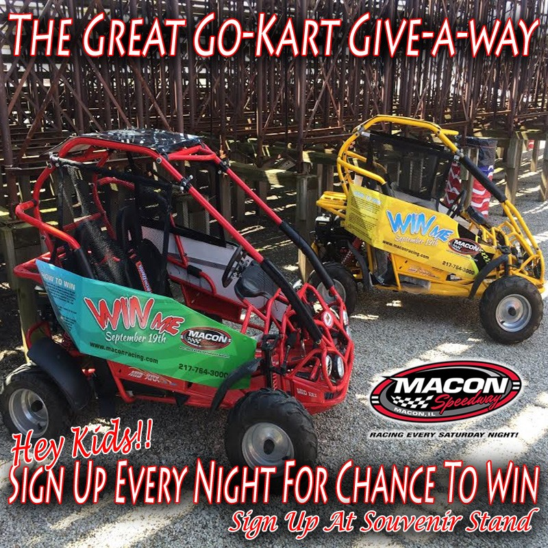 Great Go Kart Giveaway