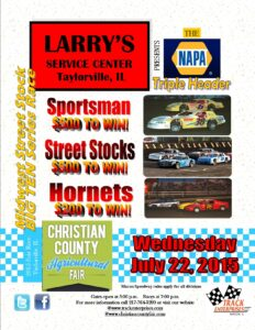 Larry's Service Center Christain County Fair 7-22-15