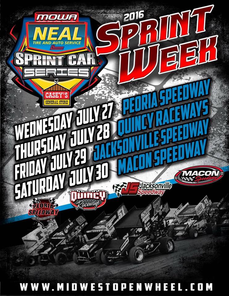 MOWA Sprint Week July 30