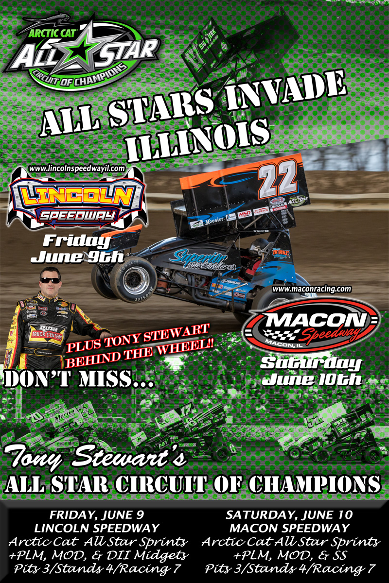 Tony Stewart & All-Star Sprints