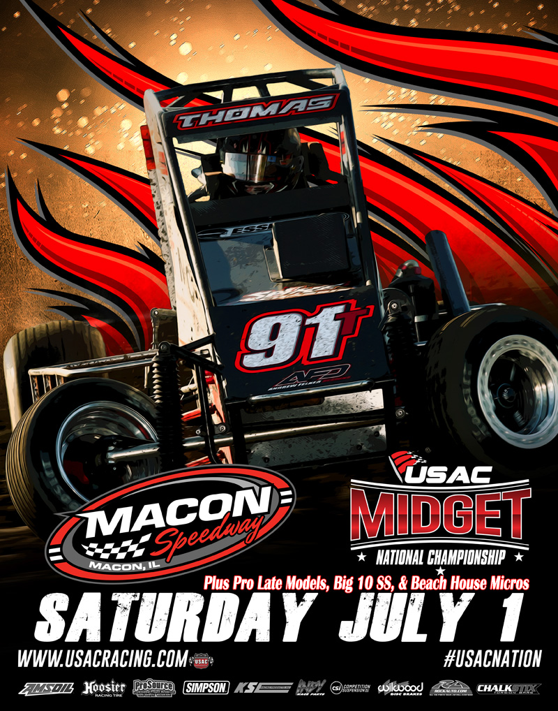 USAC National Midgets July 1