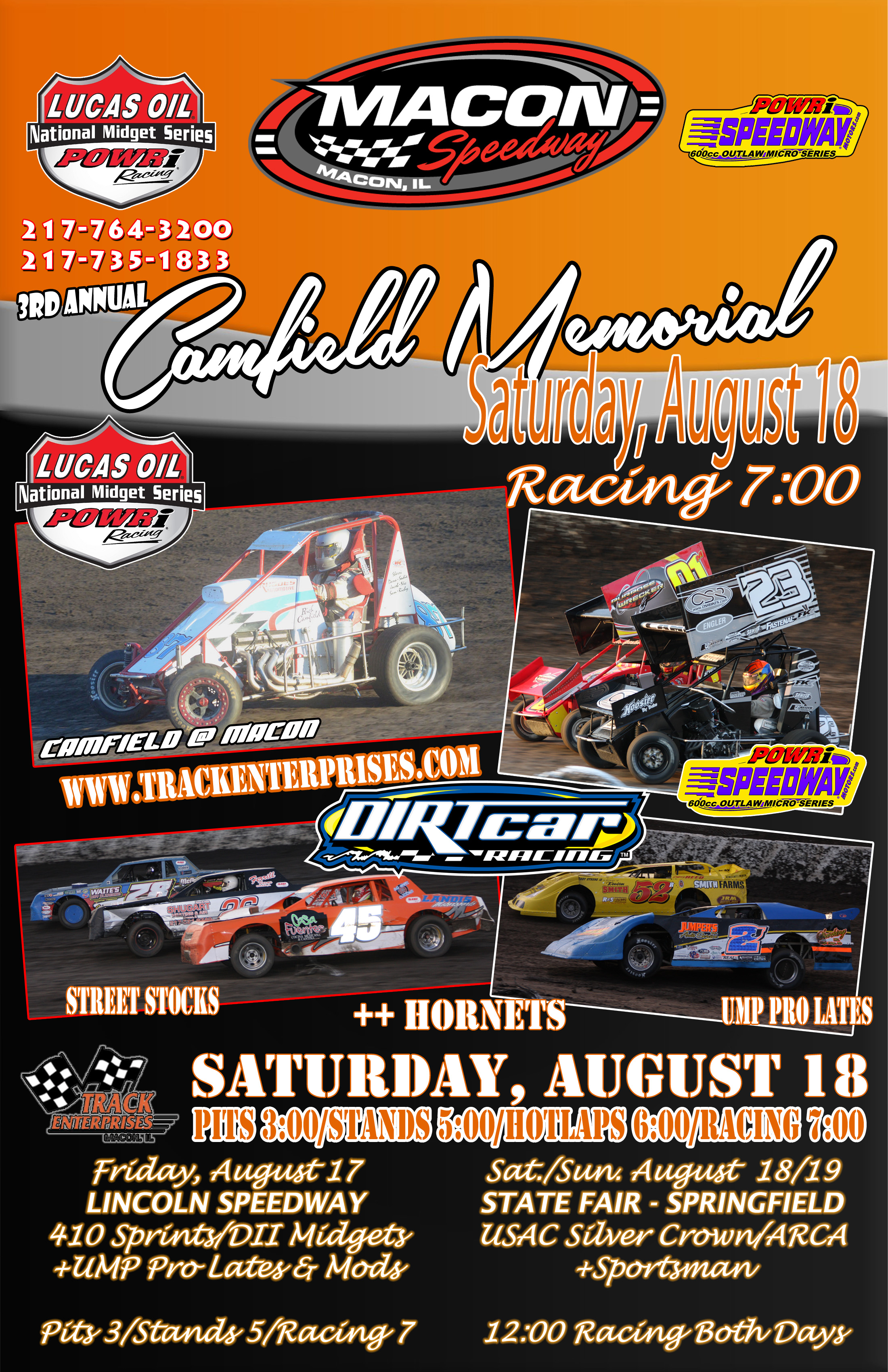 Next Race August 18th